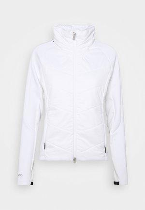 MUNDIN MIDLAYER JACKET - Giacca outdoor - white