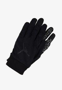 Jordan - SPHERE GLOVES - Gloves - black/dark grey/gym red - 1