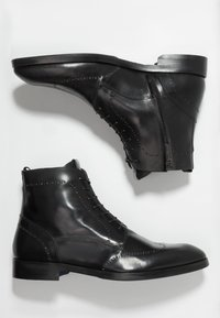 Giorgio 1958 - Šněrovací kotníkové boty - black - 1