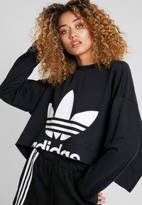 adidas Originals - CUT OUT  - Felpa - black - 3