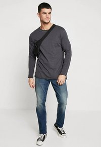 G-Star - 3301 STRAIGHT - Džíny Straight Fit - higa stretch denim - medium aged - 1