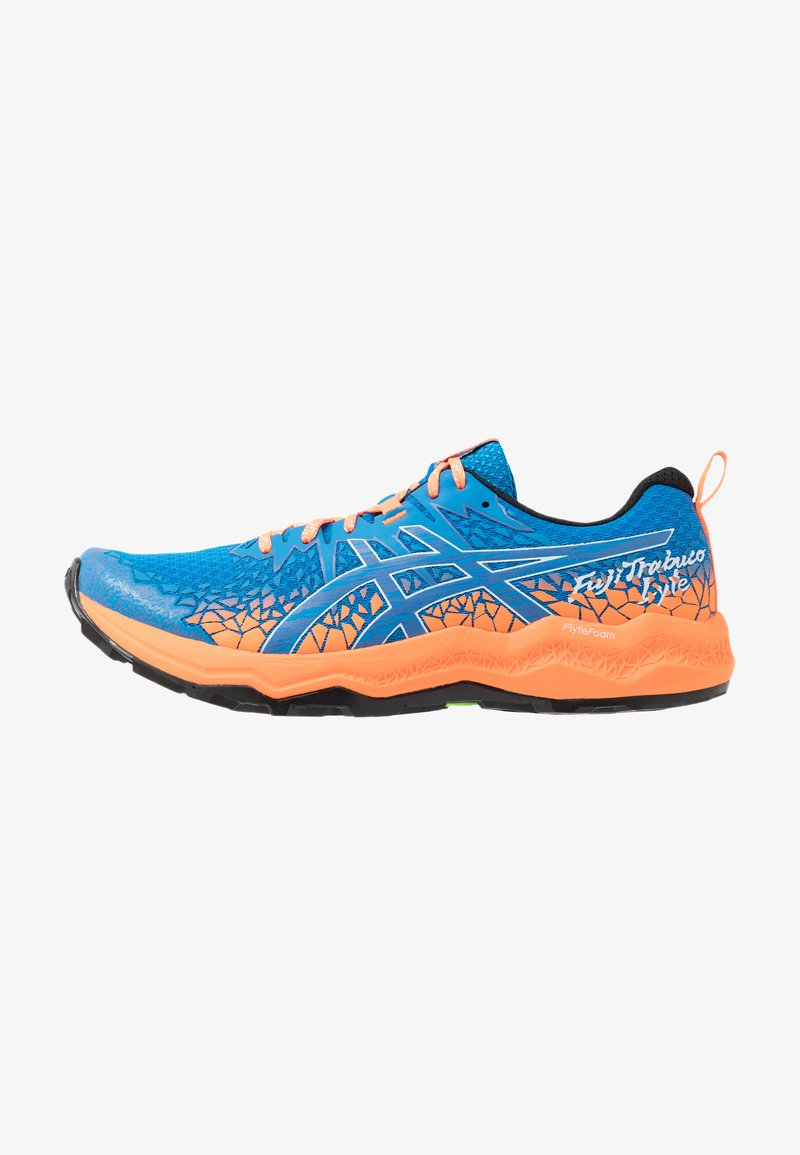 ASICS - FUJITRABUCO LYTE - Trail running shoes - directoire blue/shocking orange