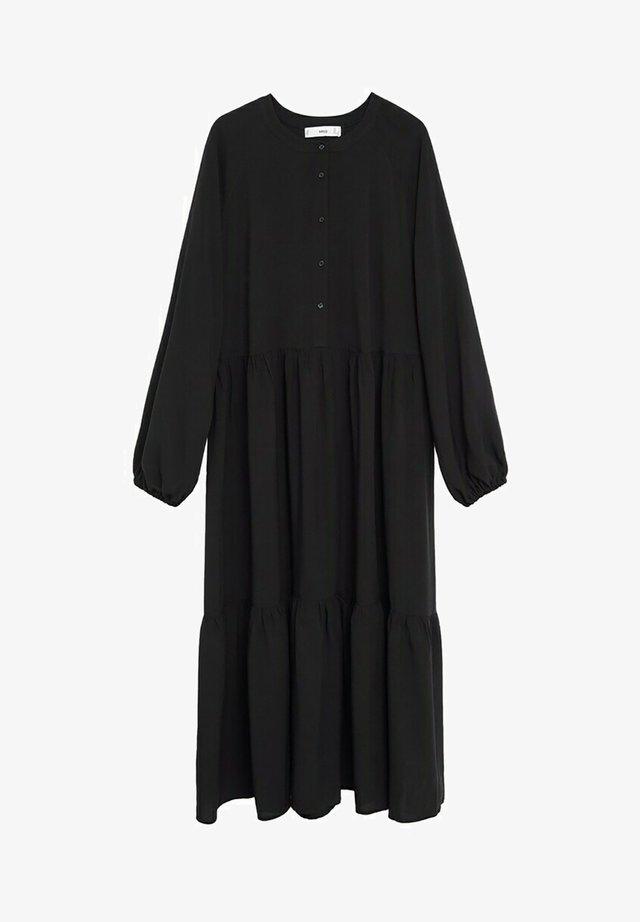 TUCCAP - Shirt dress - svart