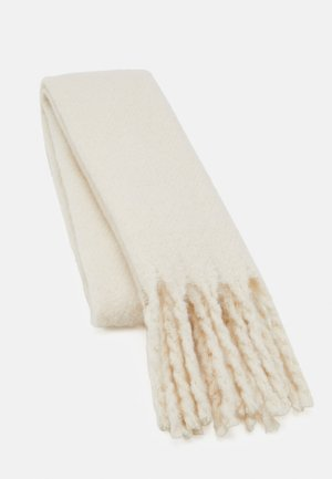 BIG FRINGE SCARF - Halsduk - light white