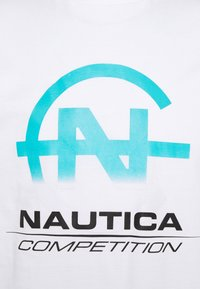 NAUTICA COMPETITION - BULKHEAD - Print T-shirt - white - 2