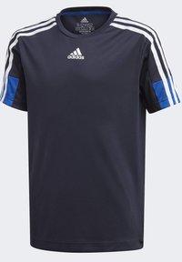 adidas Performance - AEROREADY  - Print T-shirt - blue - 0