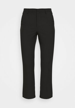 ON THE RUN STRAIGHT LEG TAILORED TROUSER - Trousers - black