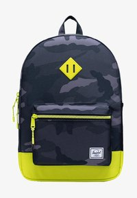 Herschel - School bag - night camo/lime punch - 0