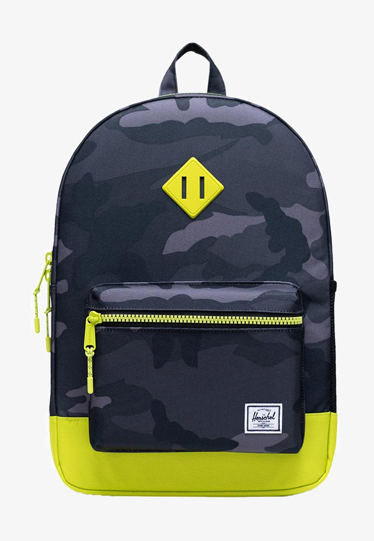 Herschel - School bag - night camo/lime punch