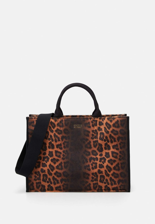 TYRA SET - Shopper - black