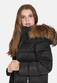 Cero & Etage - Winter coat - charcoal melange - 4
