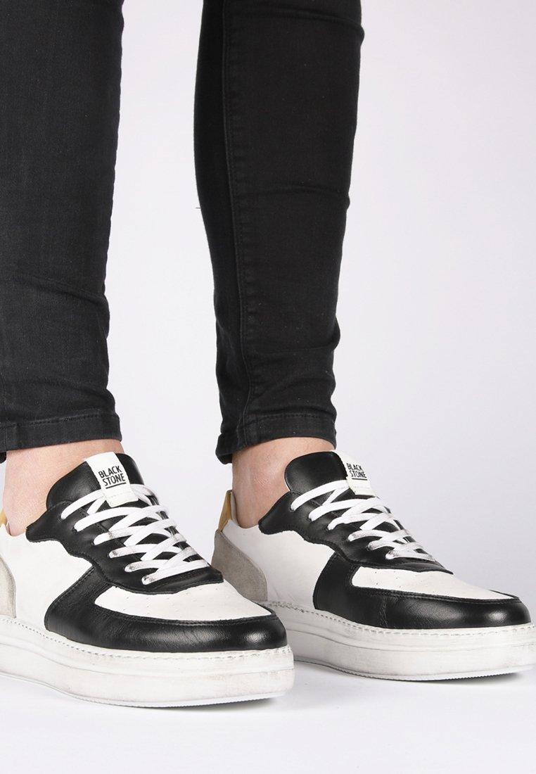Blackstone - Skateskor - white
