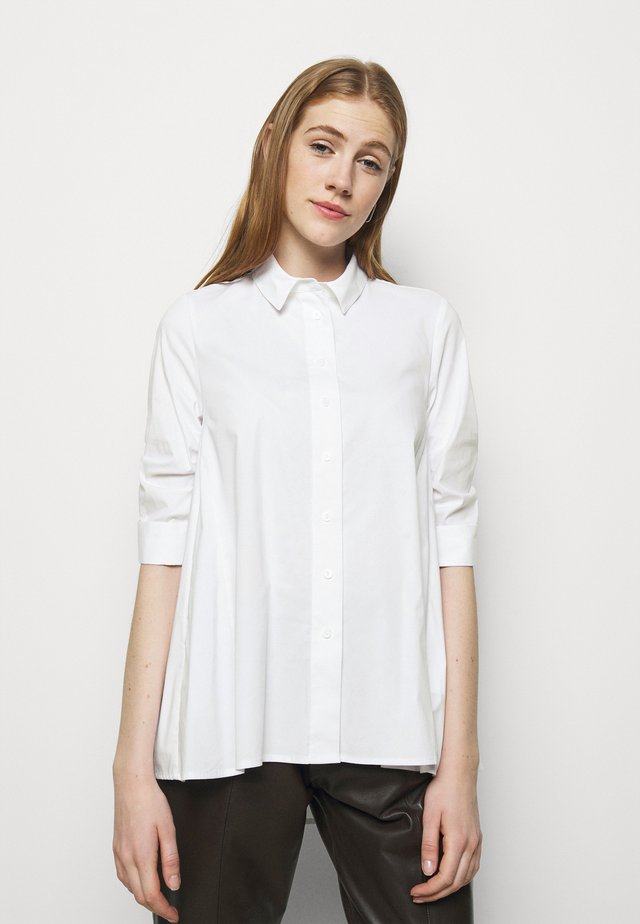 BENITA FASHIONABLE BLOUSE - Hemdbluse - white