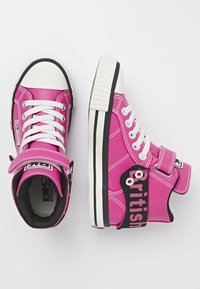 British Knights - ROCO - Sneakers hoog - candy pink/black - 1