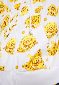 Versace Jeans Couture - Zip-up hoodie - white - 5