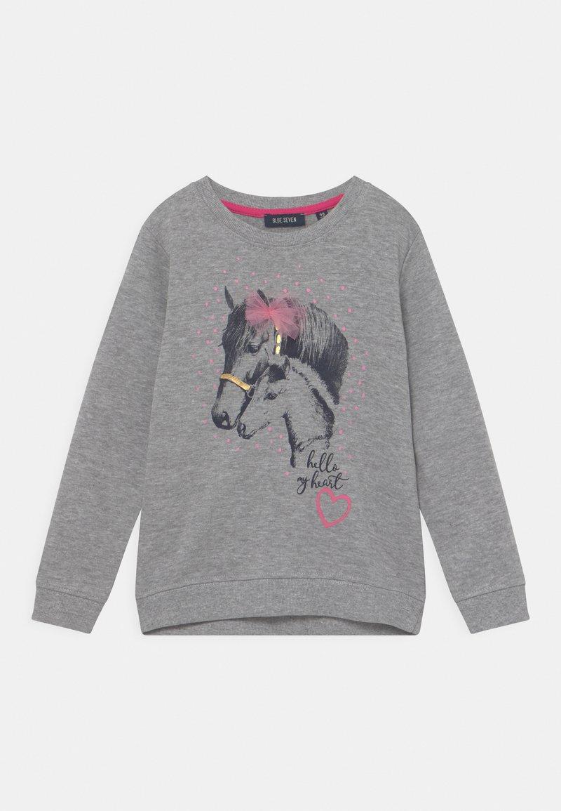 Blue Seven - KIDS GIRLS - Sweatshirt - mittelgrau