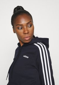 adidas Performance - Zip-up hoodie - legend ink/white - 4