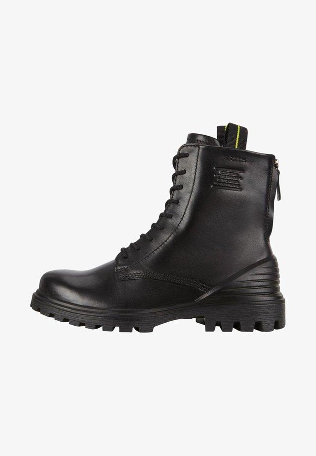 TREDTRAY - Šněrovací kotníkové boty - black
