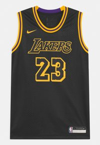 Nike Performance - NBA LA LAKERS LEBRON JAMES BLACK MAMBA UNISEX - Club wear - black - 0