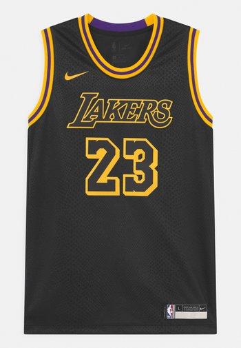 NBA LA LAKERS LEBRON JAMES BLACK MAMBA UNISEX - Club wear - black