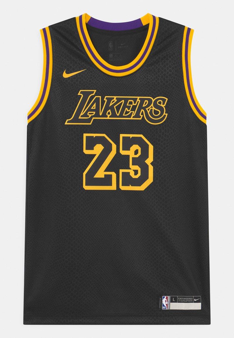 Nike Performance - NBA LA LAKERS LEBRON JAMES BLACK MAMBA UNISEX - Club wear - black