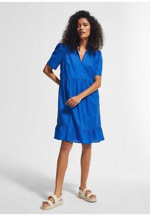 Day dress - royal blue
