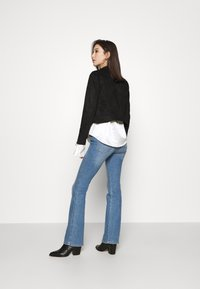 Miss Selfridge - BIKER - Summer jacket - black - 2