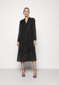 Saint Tropez - CARISZ MAXI DRESS - Cocktail dress / Party dress - black - 0