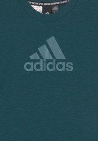 adidas Performance - TEE - T-Shirt print - teal/mint - 2