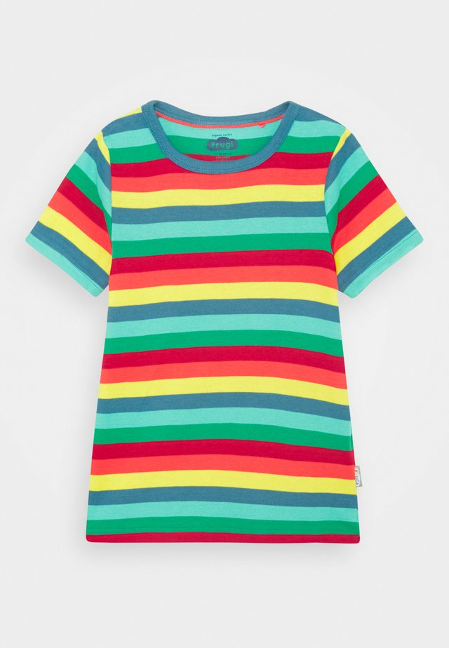 FAVOURITE UNISEX - T-shirt imprimé - steely blue