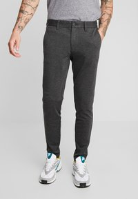 Only & Sons - ONSMARK PANT - Pantaloni - dark grey melange - 0