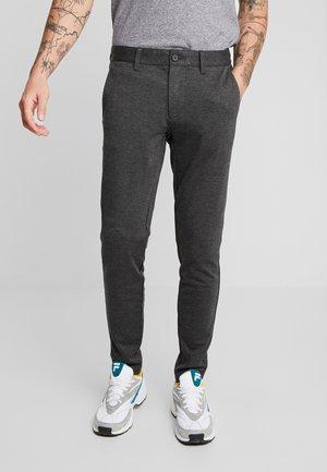 ONSMARK PANT - Spodnie materiałowe - dark grey melange