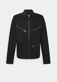 G-Star - AIR FORCE DENIM - Denim jacket - nero black stretch denim/pitch black - 0