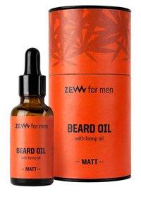 Zew for Men - MATT BEARD OIL WITH HEMP OIL - Beard oil - - - 1