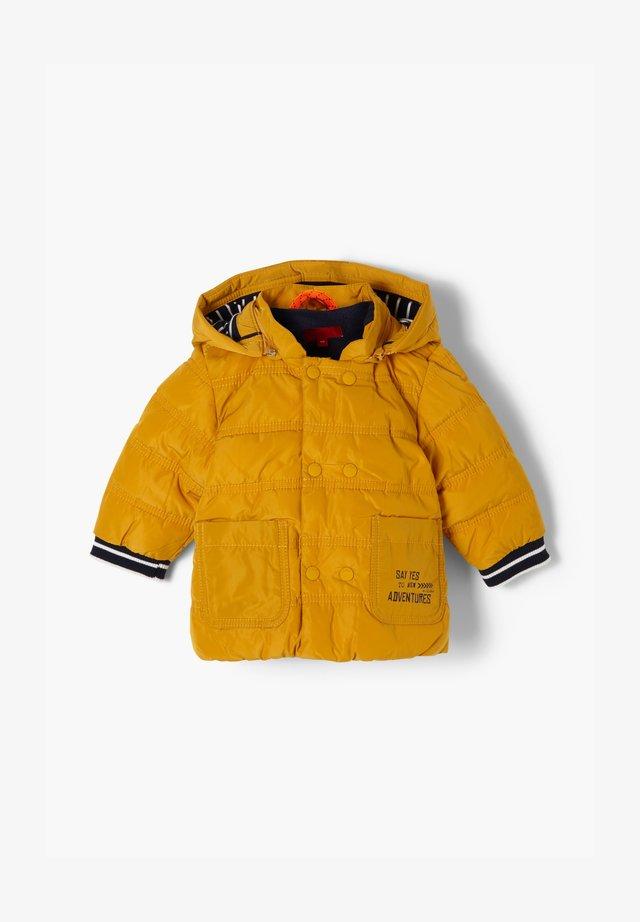 MIT KONTRAST-DETAILS - Winter jacket - yellow