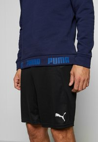 Puma - ITALIEN FIGC CULTURE CREW SWEATER - Sweatshirt - peacoat/team power blue - 3