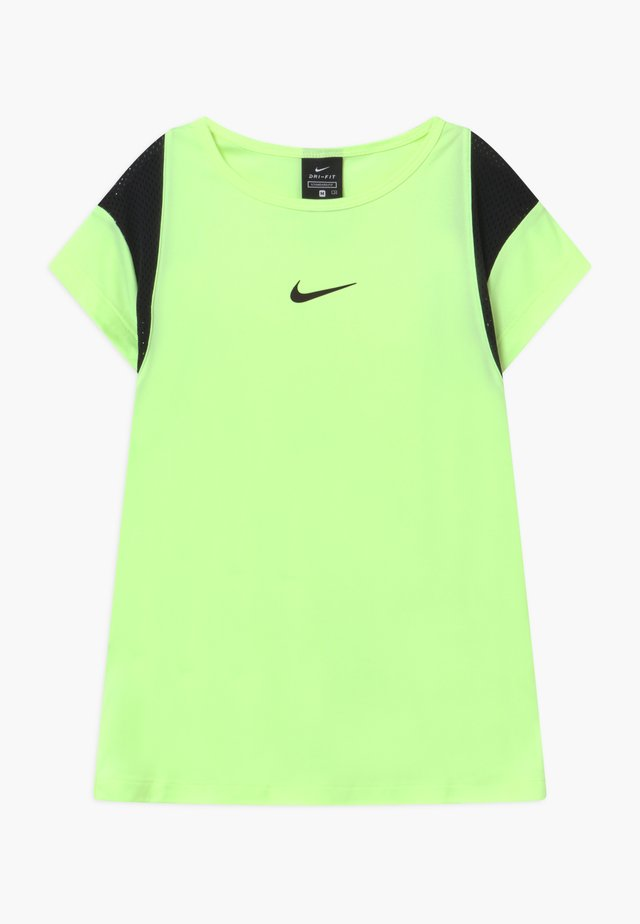 DRY - T-Shirt print - barely volt/black