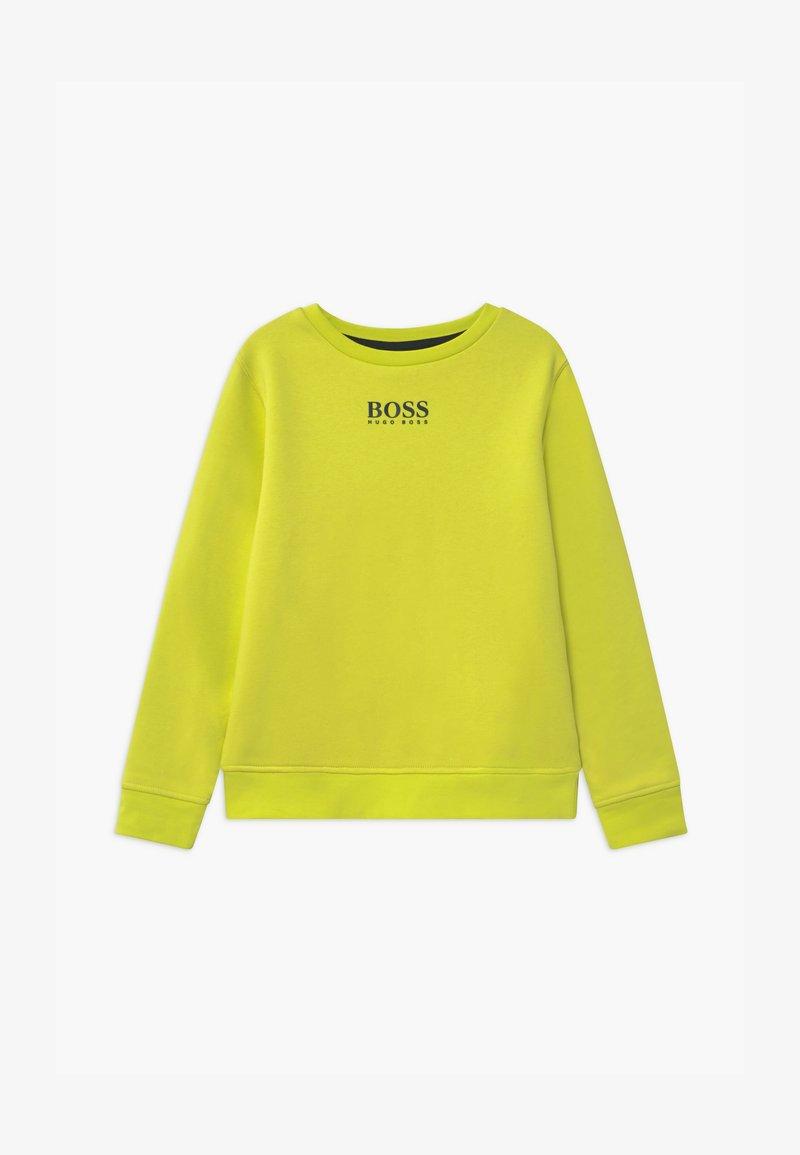 BOSS Kidswear - Sweatshirt - green lemon