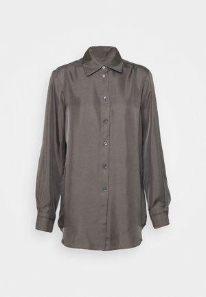 JENNIE - Button-down blouse - green grey