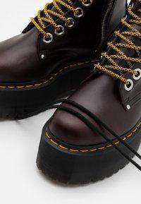 Dr. Martens - JADON MAX - Platform ankle boots - oxblood - 5