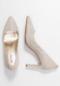 MICHAEL Michael Kors - DOROTHY FLEX  - High heels - silver/sand - 3