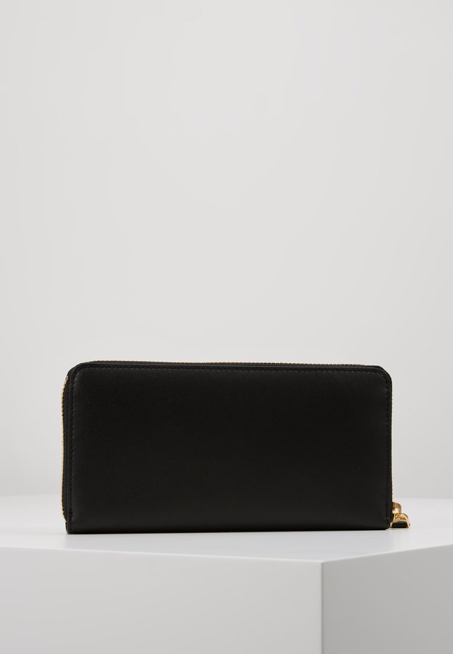 SUPER SMOOTH ZIP  - Wallet - black/crimson