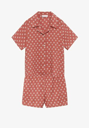 2 PACK - Pyjama set - orange brûlé