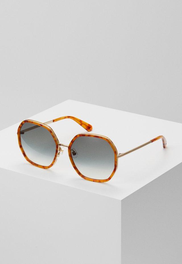 NICOLA - Lunettes de soleil - brown