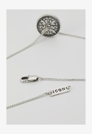 VASCO PENDANT - Collana - silver-coloured