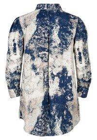 Zizzi - Button-down blouse - dark blue - 2