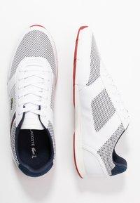 Lacoste - MENERVA SPORT - Sneakers laag - white/navy - 1