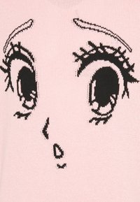 NU-IN - GALLUCKS X NU IN COLLECTION FRONT PRINTED OVERSIZED JUMPER - Pullover - pink - 2