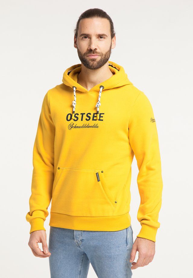 OSTSEE - Mikina skapucí - senf