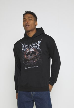 FORGOTTEN PAST HOODIE - Sweatshirt - black
